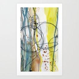 Where We Intersect Art Print