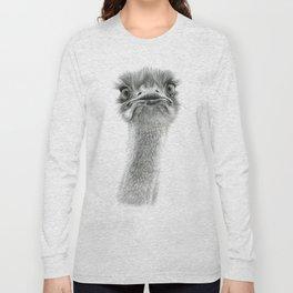 Cute Ostrich SK053 Long Sleeve T-shirt