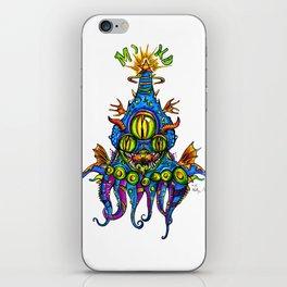 Levitating Mind Creature  iPhone Skin