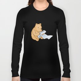 Pooh Reading Long Sleeve T-shirt