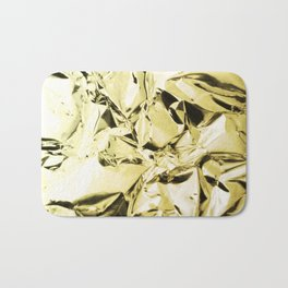 Gold foil Bath Mat