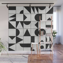 My Favorite Geometric Patterns No.10 - White Wall Mural