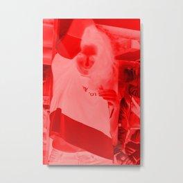 ines Metal Print
