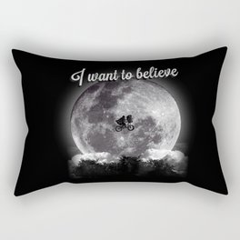 I want to believe Rectangular Pillow
