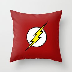 Flash - Digital Work Throw Pillow