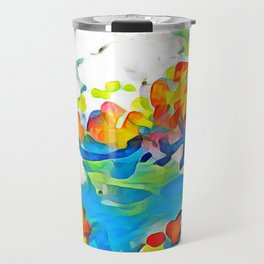 Splashes Of Color Rio de Janeiro by CheyAnne Sexton Travel Mug
