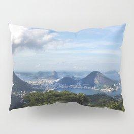 RIO DE JANEIRO THE CITY POSTCARD Pillow Sham