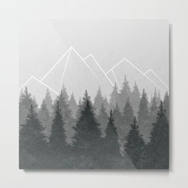 Fading Forests Metal Print