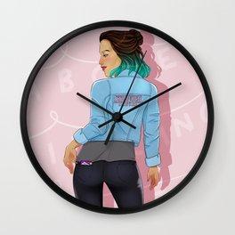 Stranger Fan Wall Clock