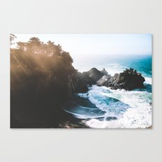 ocean falaise Canvas Print