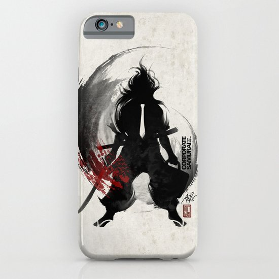 Corporate Samurai iPhone & iPod Case
