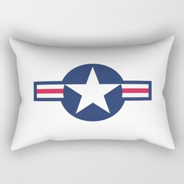 US Air force insignia Rectangular Pillow