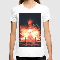 ufo T-shirts featuring UFO by Teodora Roşca