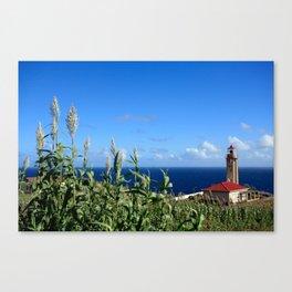 Ponta Garça lighthouse Canvas Print