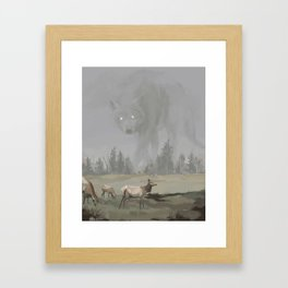 Fenrir Framed Art Print