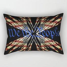 We The People - Rise Rectangular Pillow