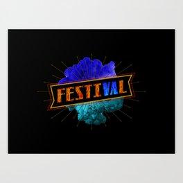 festiVAl Art Print