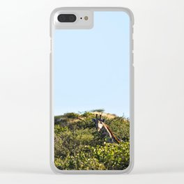 Giraffe. Clear iPhone Case