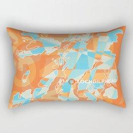 Argyll & Bute County Poster Rectangular Pillow