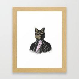 Commander Morris Framed Art Print