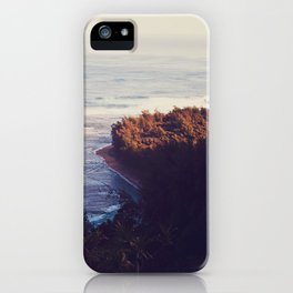 Morning Beach iPhone Case