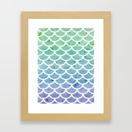 Mermaid's Tail Framed Art Print