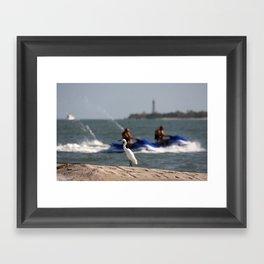 Summertime Fun  Framed Art Print