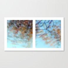 Autumn Impressions #3 - Diptych Canvas Print