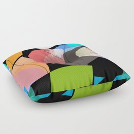Stueckwerk III Floor Pillow