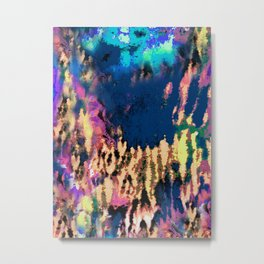 Abstract deep blue. Ocean. Metal Print