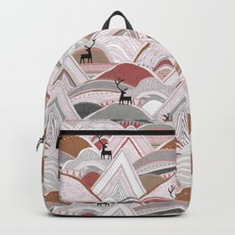 caribou mountains sienna Backpack
