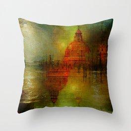 Immortal Venice Throw Pillow