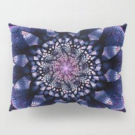 Mandala Flower Ultra Violet Art Pillow Sham