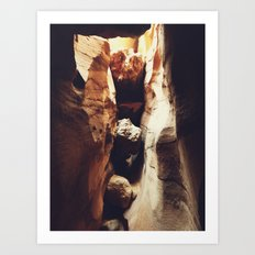 Aron Ralston's Accident Location Art Print