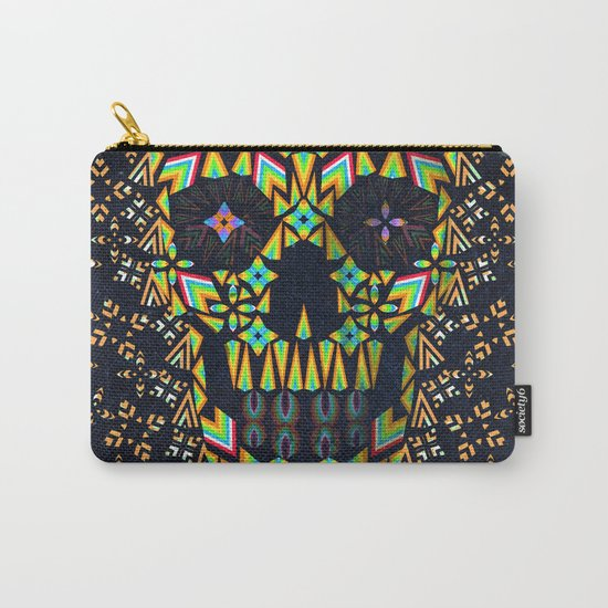 Skull 6 Carry-All Pouch
