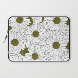Daisy Yellow Laptop Sleeve