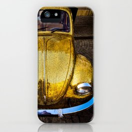 Gold BEETLE iPhone Case
