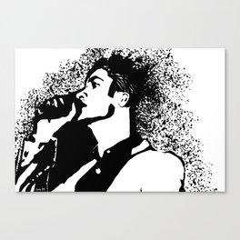 Brendon Urie Profile Canvas Print