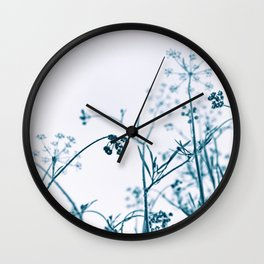 Botanical Heaven Wall Clock
