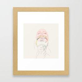 women incongruent Framed Art Print