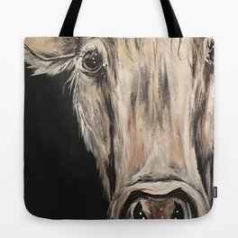 Cozy Cow in the Night Tote Bag