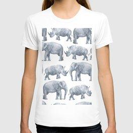 Rhino and elephant T-shirt