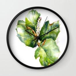 California Oak Moth Caterpillar Wall Clock