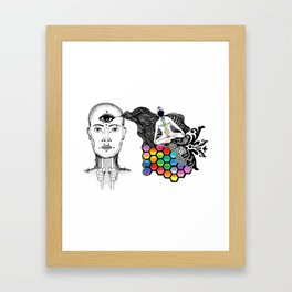 [spirit molecule] Framed Art Print