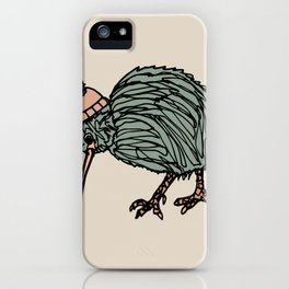 Autumn Kiwi Bird iPhone Case
