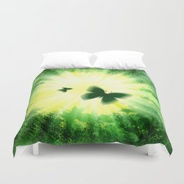 """The sun and the """"Butterfly - Effect""""! Duvet Cover"""