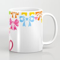 gift card Mugs featuring Gift by aleksander1