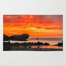 South Pacific Sunset Rug