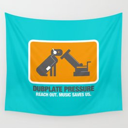 Dubplate Pressure 2003 Wall Tapestry