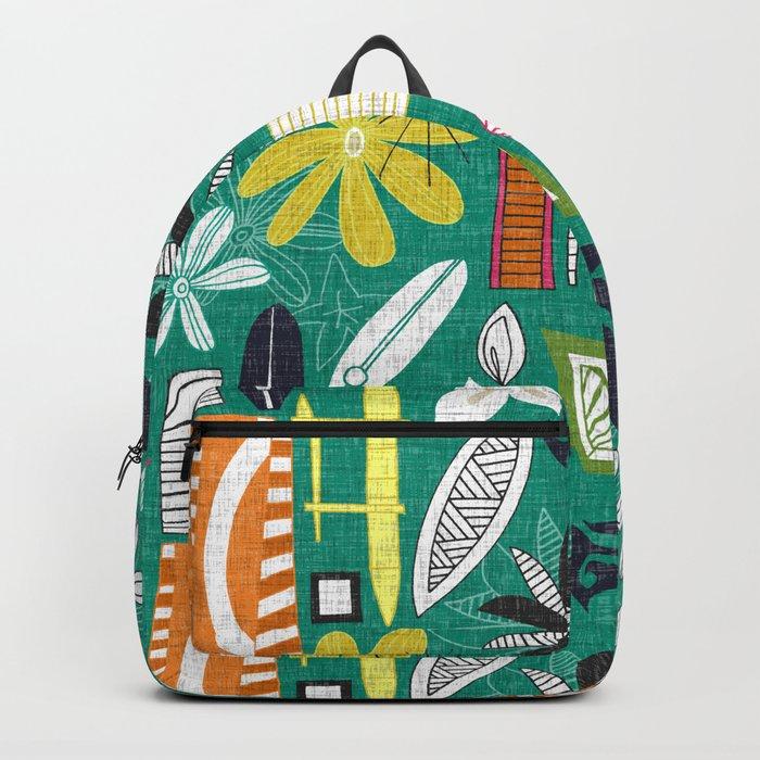 beachy jade Backpack